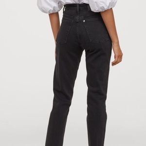 H&M mom high ankle crop jeans